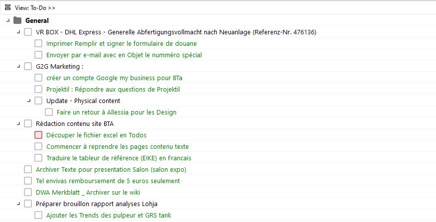 MLO lists